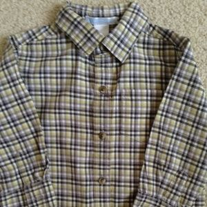 janie and jack plaid dress shirt 18-24m fall
